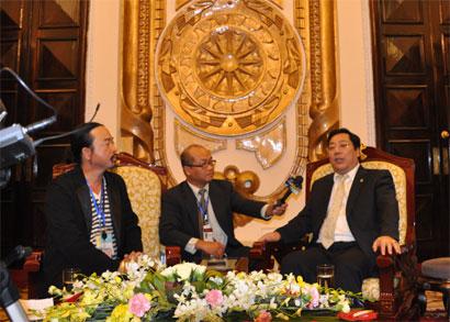Thứ trưởng Ngoại giao Nguyễn Thanh Sơn: Sẵn sàng đối thoại vì lợi ích dân tộc