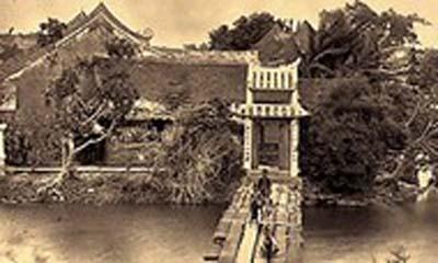 Những điều ít biết về đền Ngọc Sơn trong lịch sử