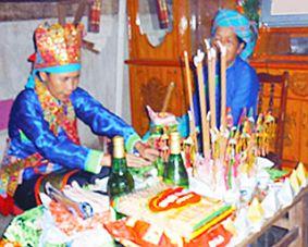 Lễ gọi vía - nét độc đáo trong phong tục của người Giáy ở Lào Cai