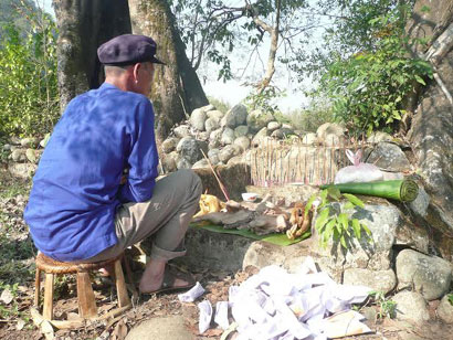 Lễ cúng thổ địa của dân tộc Giáy, Lai Châu