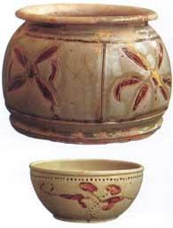 Đồ gốm trong Hoàng thành Thăng Long - Gốm thời Trần