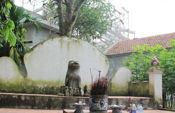 Tục thờ chó đá của người Việt