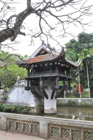 Chùa Một Cột - Kiến trúc văn hóa độc đáo lâu đời