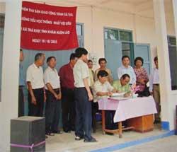 Những dự án được FOVC hỗ trợ trong năm 2005