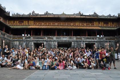 Trại hè Việt Nam 2011 đến với những di sản miền Trung