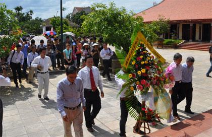 Thăm quê hương cố Thủ tướng Phạm Văn Đồng