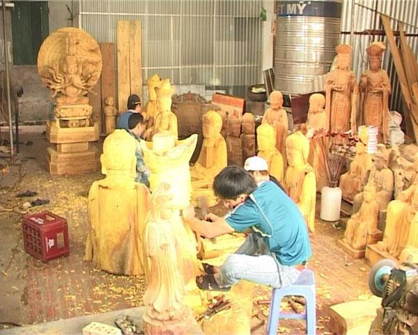 Đặc sắc nghệ thuật điêu khắc tượng Phật của người Việt