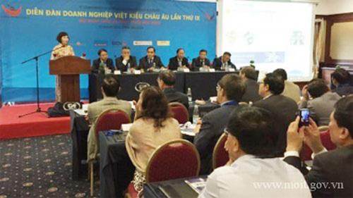 Doanh nhân Việt kiều châu Âu chờ đón cơ hội của hội nhập kinh tế