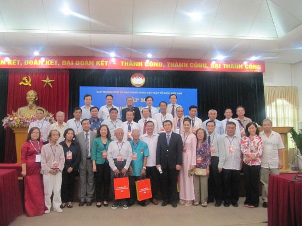 Lãnh đạo Mặt trận Tổ quốc Việt Nam gặp mặt Đoàn kiều bào dự Lễ kỷ niệm 2/9