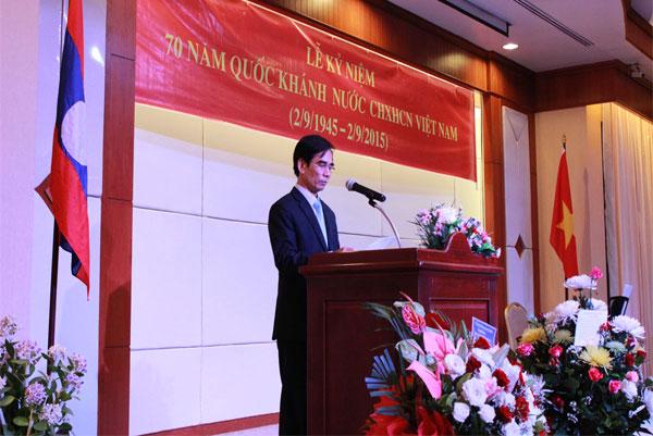Kỷ niệm 70 năm Cách mạng tháng Tám và Quốc khánh Việt Nam tại Nam Lào