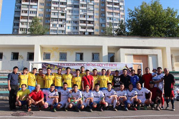 Chung kết giải bóng đá cộng đồng khu vực Troeshina – Kiev hè 2015