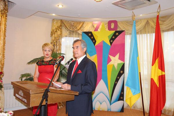 Lễ kỷ niệm 70 năm Quốc khánh 2/9 tại Ukraina