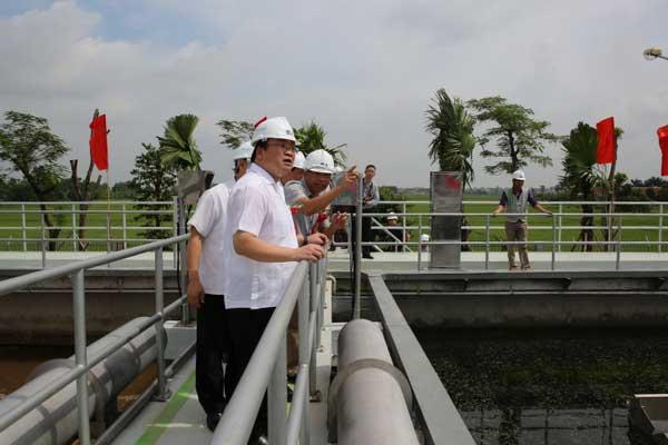 Khánh thành Nhà máy xử lý nước thải Từ Sơn