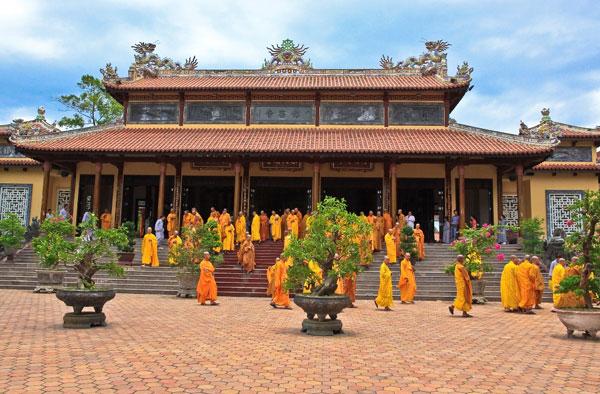 Mái chùa Huế, nét kiến trúc đặc trưng của chùa Việt