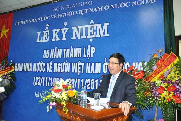 Ủy ban Nhà nước về người Việt Nam ở nước ngoài kỷ niệm 55 năm thành lập