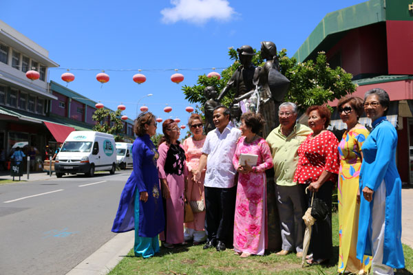 Thứ trưởng Ngoại giao Vũ Hồng Nam thăm và làm việc tại Nouvelle Calédonie