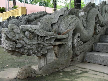Nghệ thuật trang trí, điêu khắc trong Hoàng thành