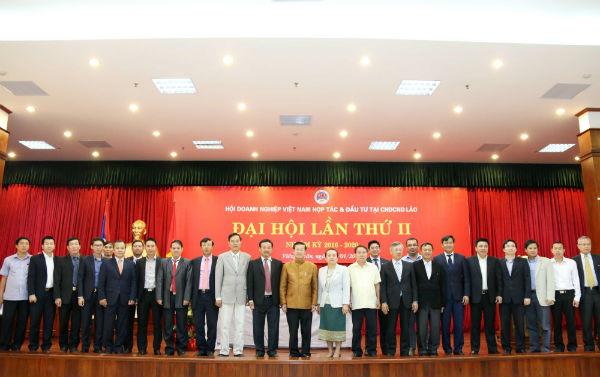 Đại hội lần thứ II Hội Doanh nghiệp Việt Nam hợp tác và đầu tư tại Lào