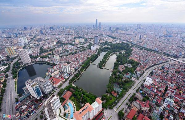 Thủ đô Hà Nội ngày càng đàng hoàng hơn, to đẹp hơn  đang trở thành hiện thực