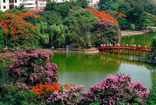 Những công trình kiến trúc gắn liền với Thủ đô Hà Nội