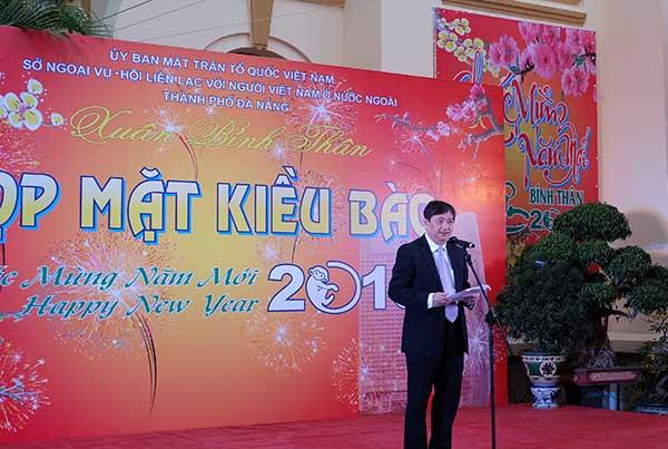 Bà con kiều bào họp mặt Tết Bính Thân tại thành phố Đà Nẵng