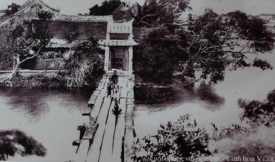 Hồ Gươm hơn 100 năm trước