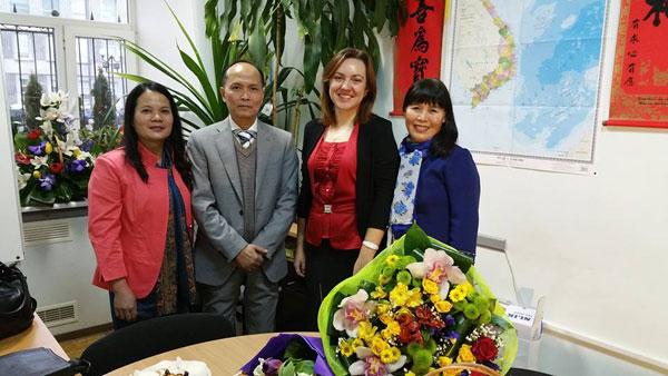 Tiếng Việt với Sinh viên Đại học Tổng hợp Quốc Gia Kiev