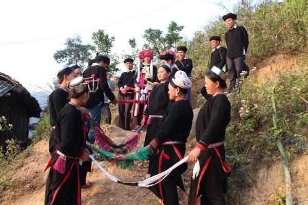 Độc đáo nghi lễ Thủm Cuổn của người Sán Chay, Cao Bằng