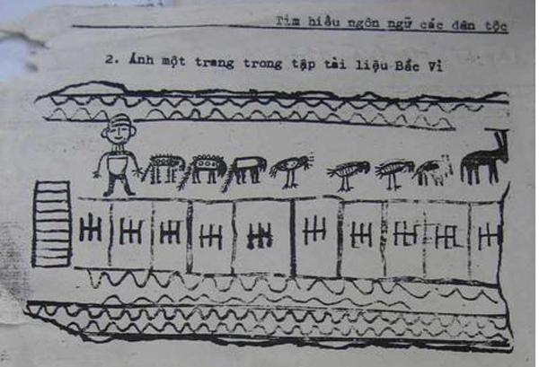 Chữ viết cổ - biểu tượng văn hóa độc đáo của người Pà Thẻn