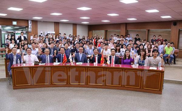 Sôi động cuộc thi hùng biện bằng tiếng Việt tại Hàn Quốc