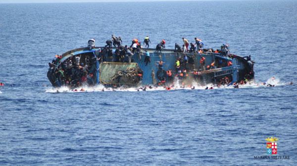 Hơn 700 người nghi thiệt mạng trong 3 ngày ở Địa Trung Hải