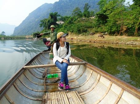Vẻ đẹp hữu tình nơi dòng sông Long Đại