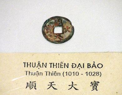 """""""Thuận Thiên đại bảo"""" – Đồng tiền đầu tiên của nhà Lý"""