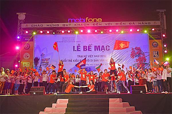 Bế mạc Trại hè Việt Nam 2016
