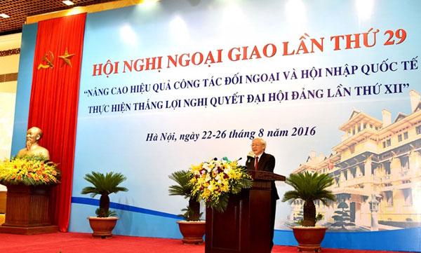 Hội nghị Ngoại giao 29: Tìm biện pháp nâng cao hiệu quả công tác về người Việt Nam ở nước ngoài