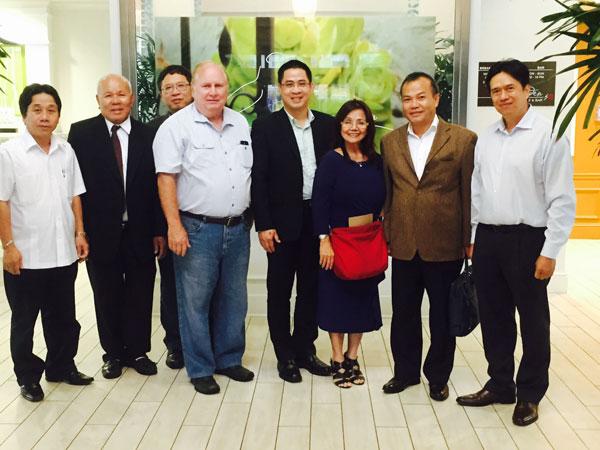 Đoàn công tác Ủy ban Nhà nước về người Việt Nam ở nước ngoài thăm và làm việc với cộng đồng người Việt Nam tại Hoa Kỳ