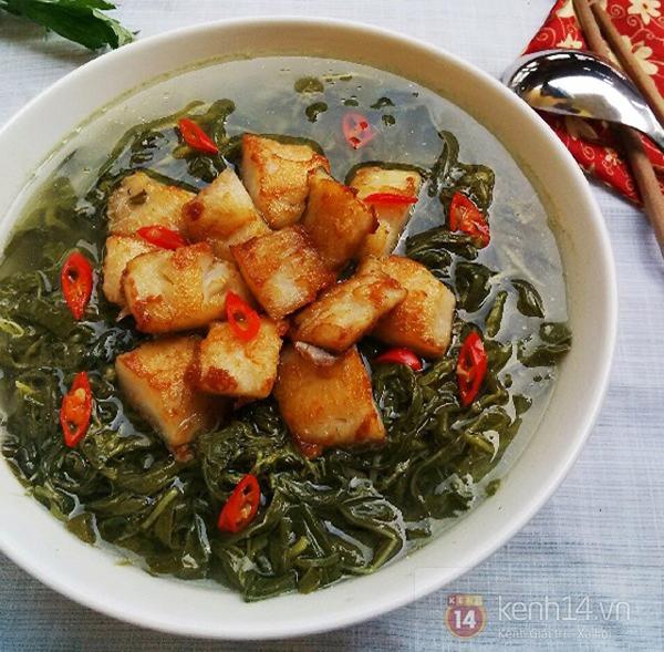 Món canh dưa sắn hấp dẫn của người Phú Thọ