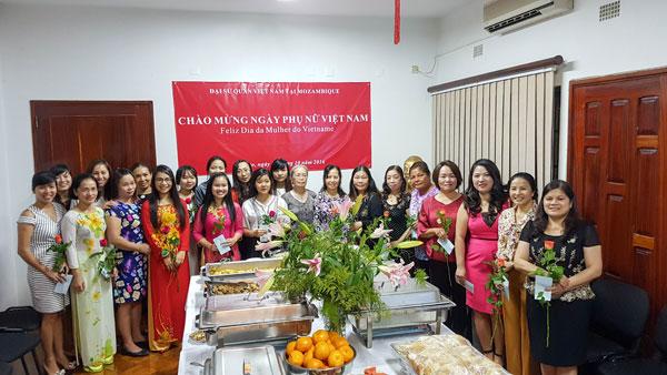 Kỷ niệm ngày thành lập Hội liên hiệp Phụ nữ Việt Nam tại Mozambique