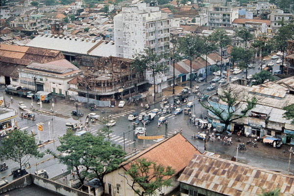 Chợ Bến Thành mở đường nối Sài Gòn - Chợ Lớn làm một