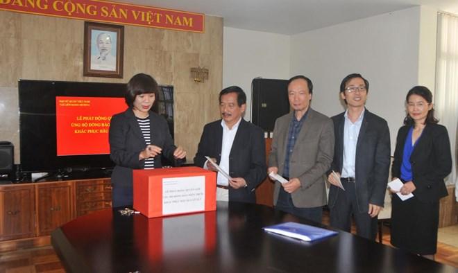Cộng đồng người Việt ở Mexico quyên góp ủng hộ đồng bào miền Trung