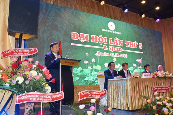 Hội người Việt Nam tại CH Séc tổ chức Đại hội lần thứ V