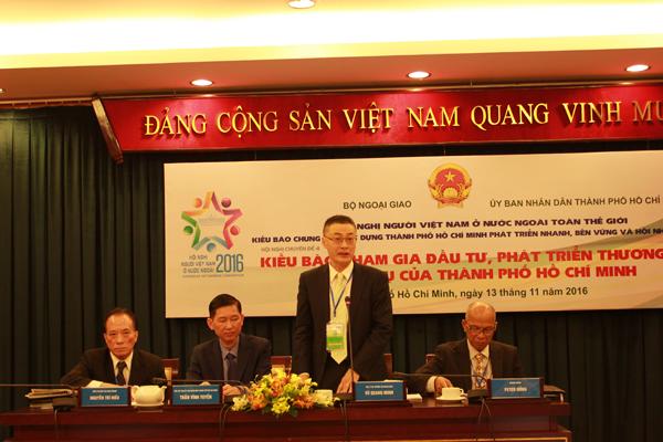 Kiều bào tham gia đầu tư, phát triển thương mại, dịch vụ của TP Hồ Chí Minh