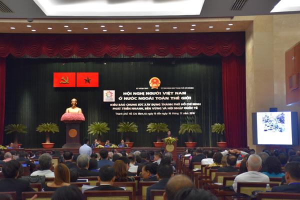 Hội nghị người Việt Nam ở nước ngoài: Kết nối trí thức, doanh nhân kiều bào trên toàn thế giới