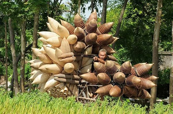 Làng nghề đan lát Đà Lam