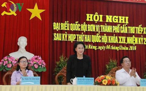 """Chủ tịch Quốc hội Nguyễn Thị Kim Ngân: """"Chức mất rồi vẫn phải xử"""""""