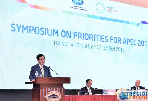 Khai mạc Hội thảo về các ưu tiên của năm APEC 2017