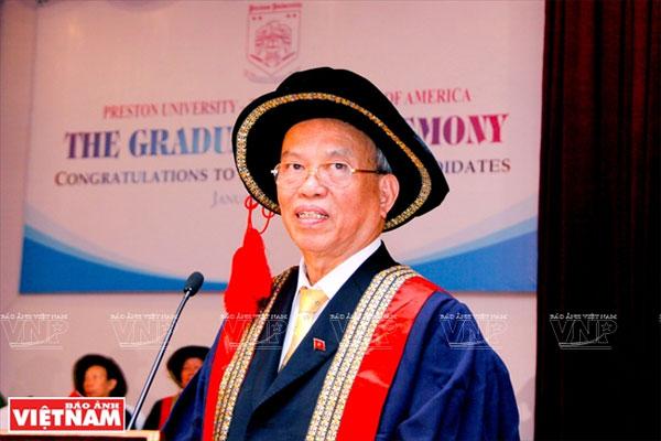 GS.TS Trình Quang Phú - nhà khoa học tận tụy với quê hương