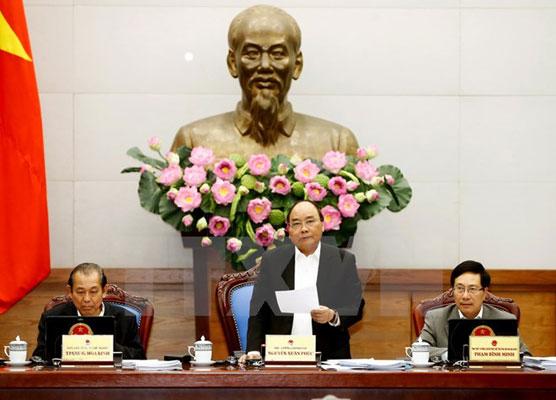 Thủ tướng nêu 30 giải pháp tập trung thực hiện trong năm 2017