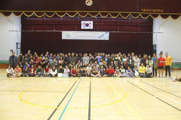 Sôi động Giải Cầu lông SeoulTech Badminton Cup 2017