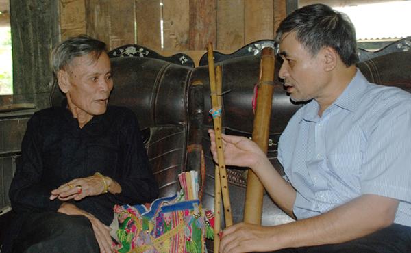 Vai trò của Thầy cúng trong việc bảo tồn văn hóa người Thái